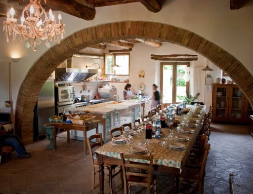 Cooking school in Tuscany all about food, friends and sharing