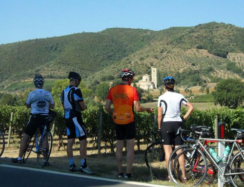 Maine contingent finds daunting Tuscany bike tour rewarding