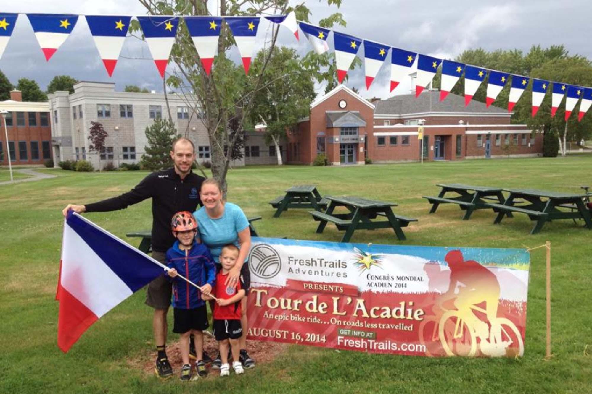 Tour de l acadie 2014 a great success fresh for Valley motors fort kent